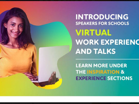 Virtual Work Experience Latest Opportunities - Speakers for Schools (Yr 10+, April to August dates)