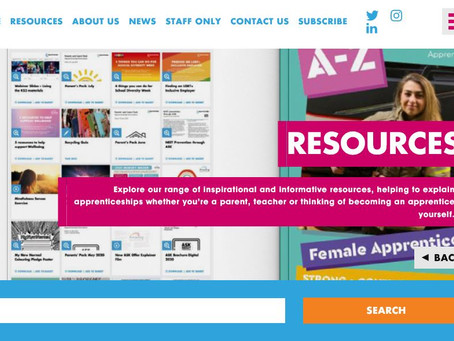 Amazing Apprenticeships - Traineeships, T Levels, Parent pack and the RAF! (All years)
