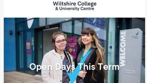 Wiltshire College Open Days (Yr 10&11, 6th Oct, 7th Oct, 6th Nov, 13th Nov)