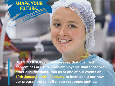 Nestle Apprenticeship Discovery Event (Yr 11-13, Tues 9th Feb)