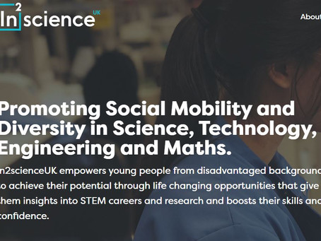 In2scienceUK Summer Programme (Year 12, 9th April deadline but apply early)