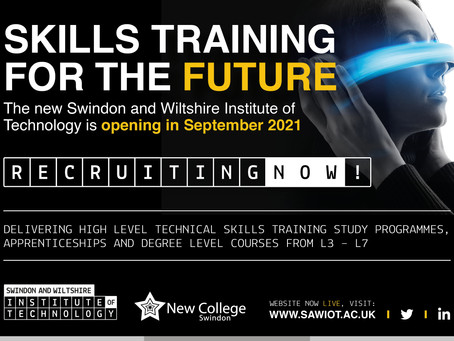 Swindon & Wiltshire Institute of Technology Info Event (Yr 10+, 25th  March 6-7.30pm)