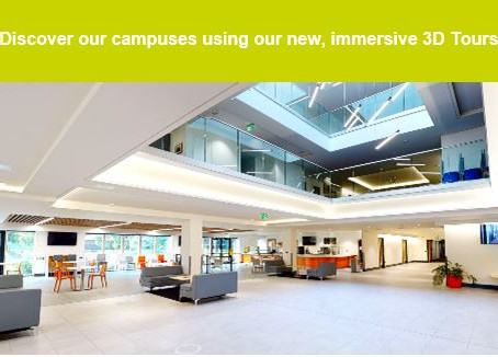 Wiltshire College new, immersive 3D tours