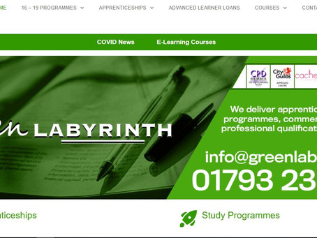 16-19 Study Programmes, Traineeships & Apprenticeships - Green Labyrinth Open Day (10th Dec 10-3pm)