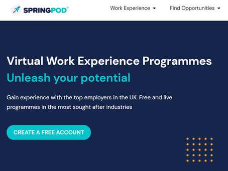February 2021 Virtual WEX Opportunities (Yr 10-13, Feb 2021)