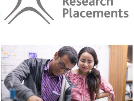 Nuffield Research Placements Programme (Year 12, EXTENDED deadline NOW 22nd April 2021)