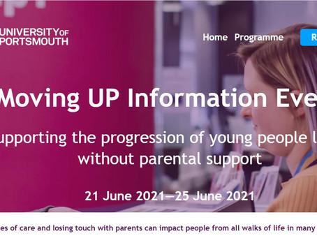 Moving UP Information Event (Yr 11-12) 21-25 June 2021 - Register NOW!