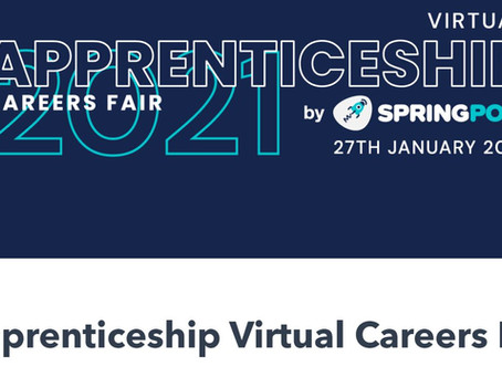 Virtual Apprenticeship Careers Fair (All years, 27th Jan 2021)
