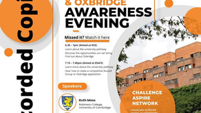 KGA Uni & Oxbridge Awareness Webinars (All years, Recorded webinars)