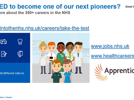 Top 10 black British healthcare pioneers - NHS Job roles (All years, Oct 2021)