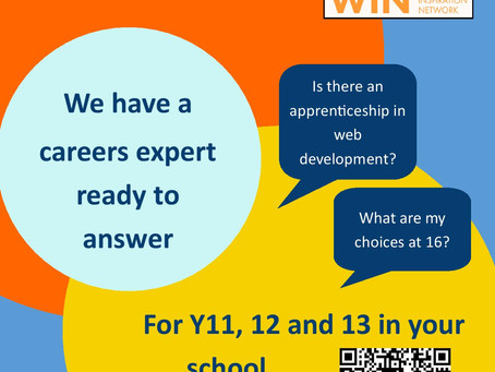Have a Careers Question? Use the ASK IT! service (Yr 11 - 13)