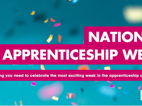 National Apprenticeship Week - Take part with these 7 steps! (All years, 8th-14th Feb 2021)