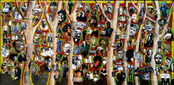 Forest of faces