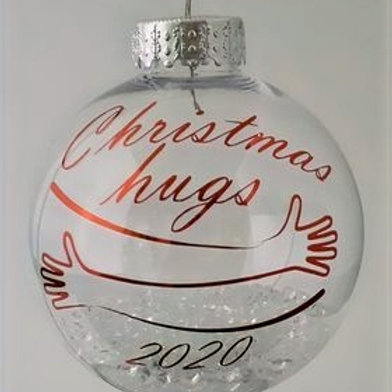 Christmas Hug Bauble 2020