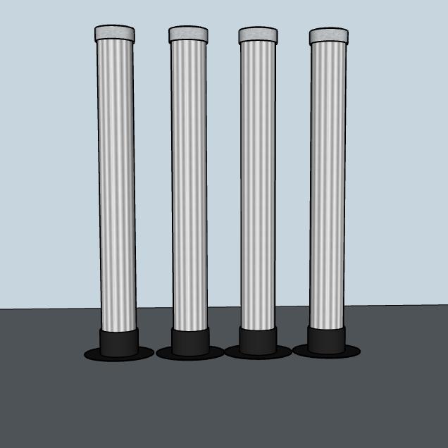 4 LaX Tubes