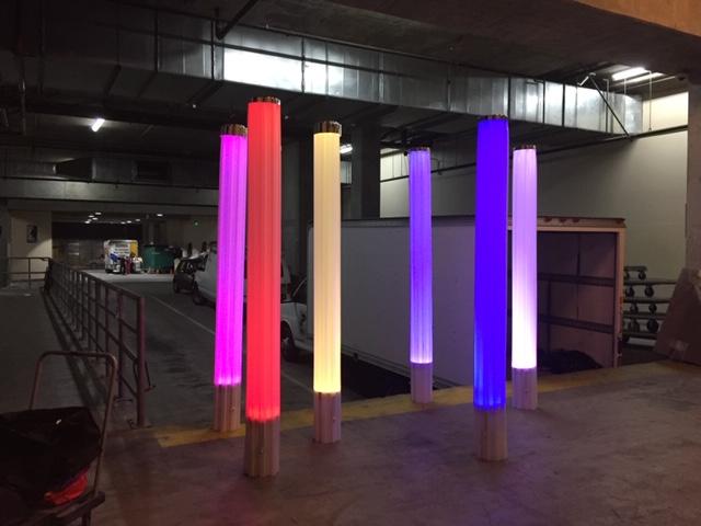 LAX Tubes -wireless LED up lights