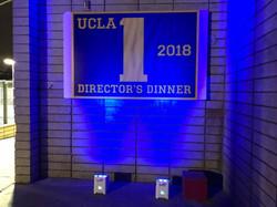 UCLA Dinner entrance