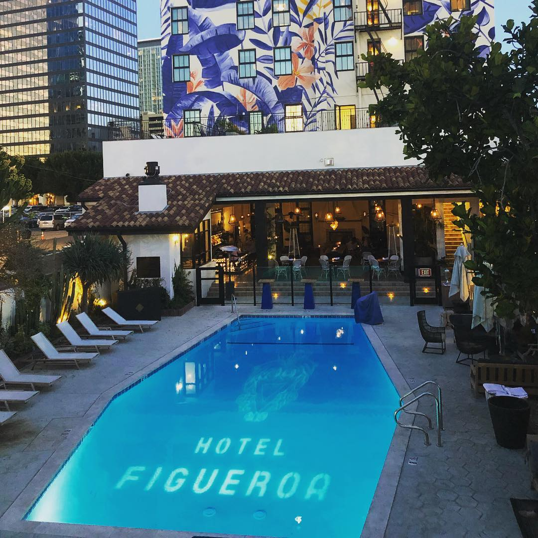 Hotel Fig pool gobo