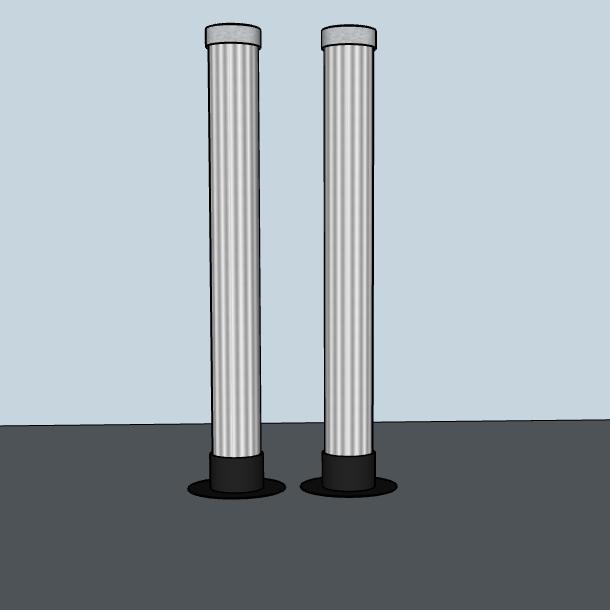 2 LaX Tubes