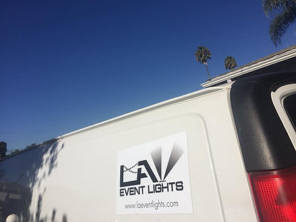 The Crew at LA Event Lights