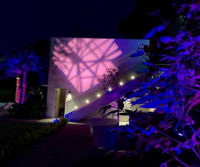 Beverly Hills House Pink Lighting.jpg