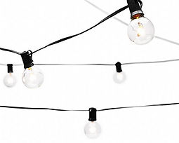Bistro Lights for party or special events
