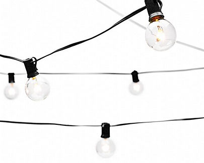 Hanging Bistro Lights for special events