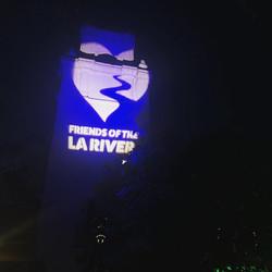 Friends LA river gobo