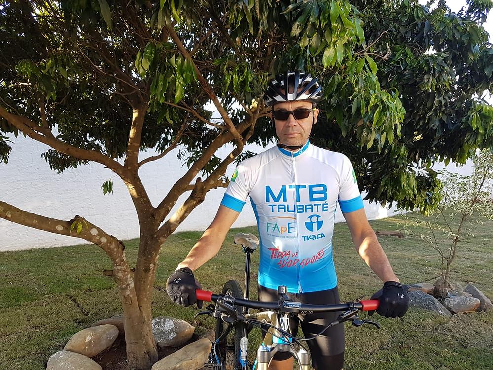 Francisco Prado, da equipe MTB Taubaté