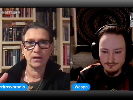 Yazka Loven vieraana Wespa - Aiheena Avaruuselämä, Pyramidit, Antarktis ja Supernormaalit Kokemukset