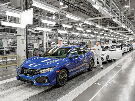 Honda's European plant closings shifts work to North America