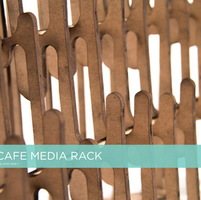 World Café: Print Media Rack
