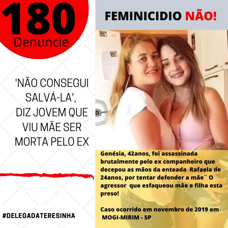 FEMINICIDIO EM MOGI MIRIM