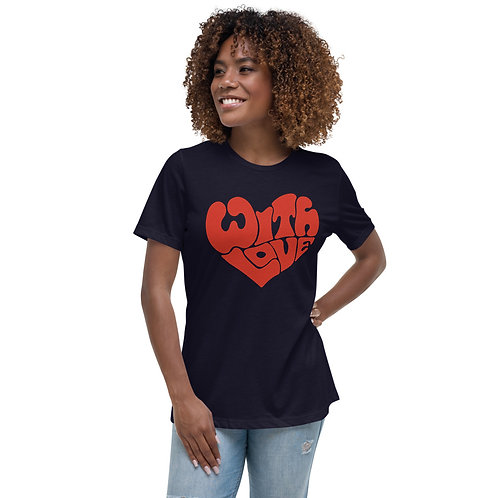 WITHLOVE | Women's Bella+Canvas Relaxed T-Shirt