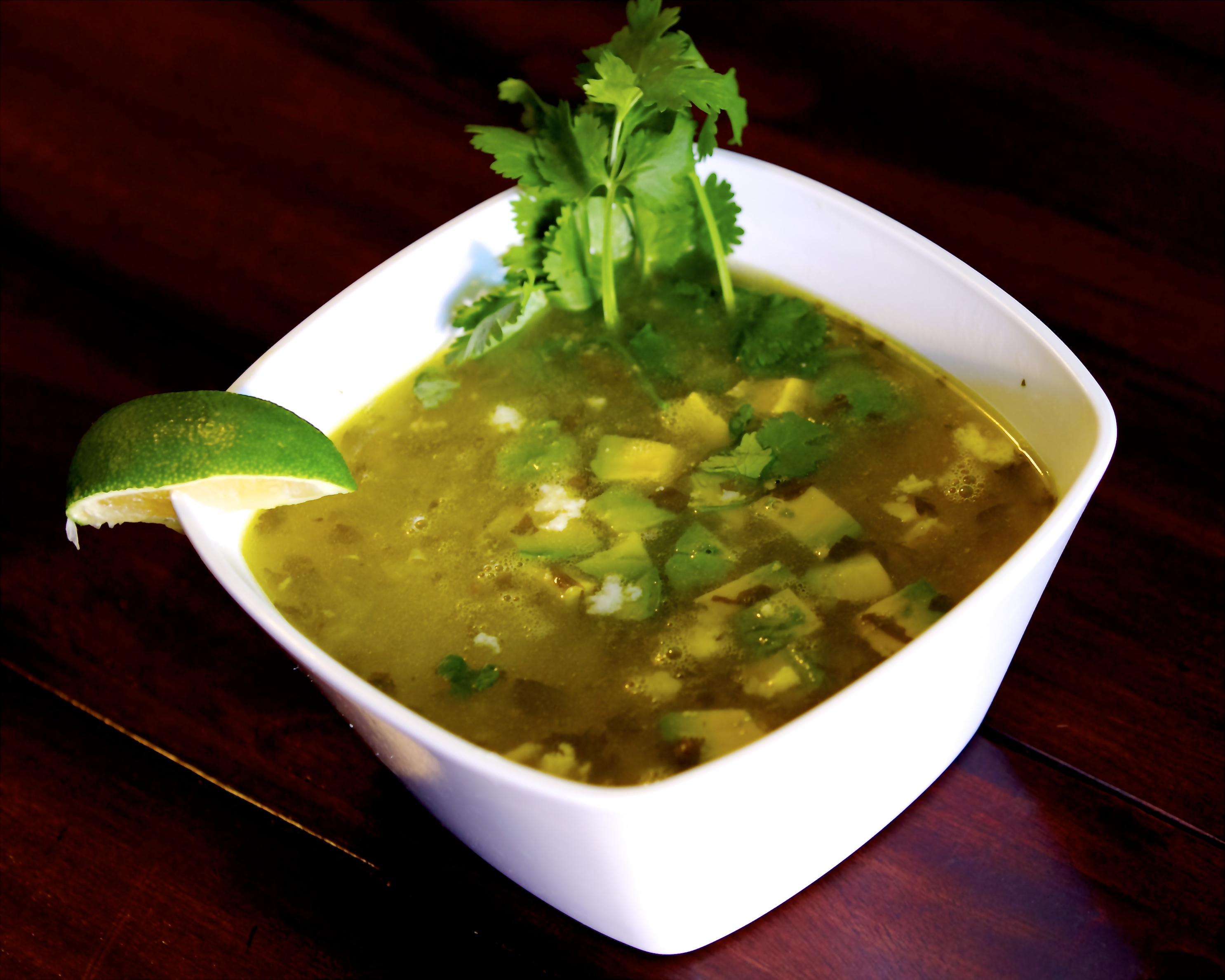 Tequila Lime soup