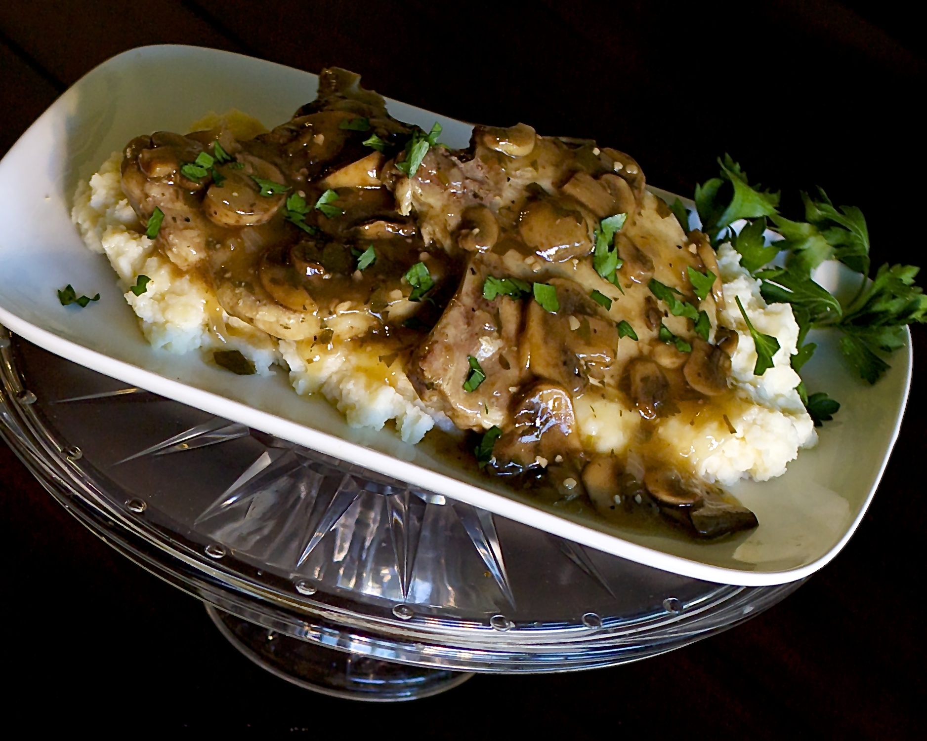 Mushroom marsala chicken