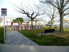 Parc enfants en face de la résidence