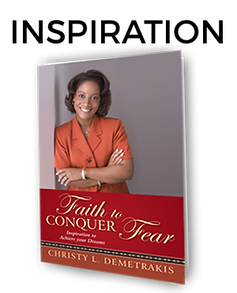 Faith to Conquer Fear: Inspiration to Achieve your Dreams book