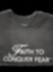 Faith to Conquer Fear t-shirt image