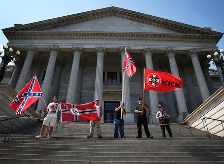 The Ku Klux Klan is rising…