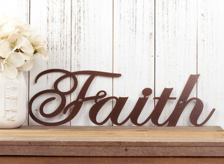 Step Out In Faith