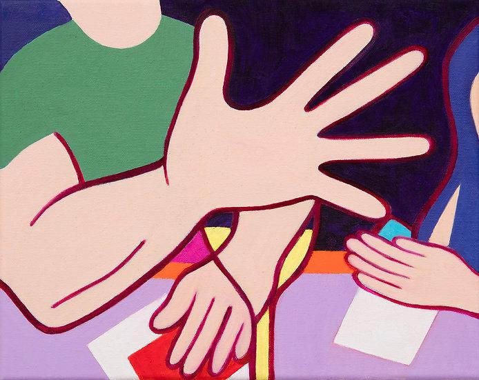 "Amanda Church - ""Big Hand"""