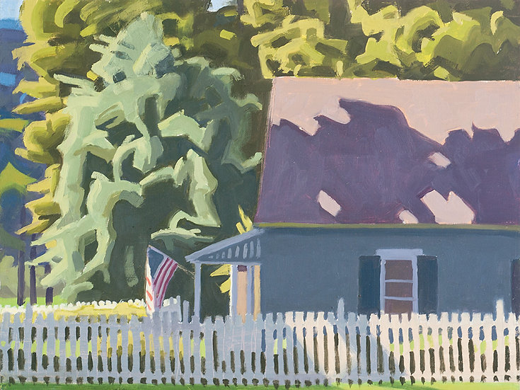 "Paula Heisen - ""Shadow on Roof"""