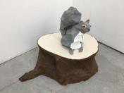 Squirrel and Stump