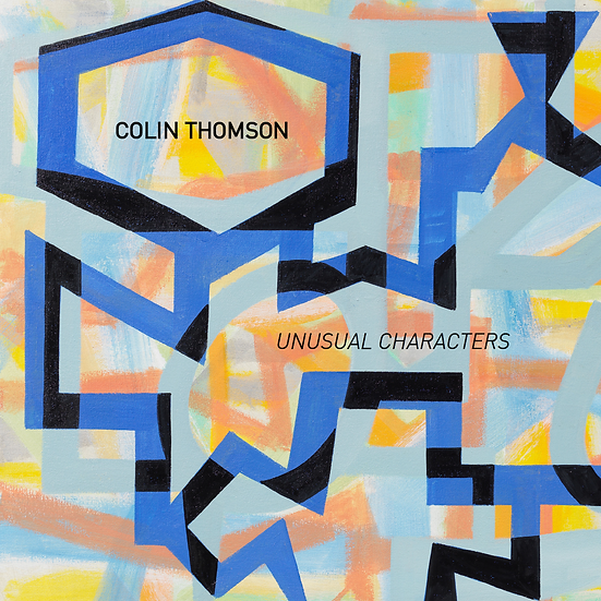 "Colin Thomson - ""Unusual Characters"" exhibition catalog"