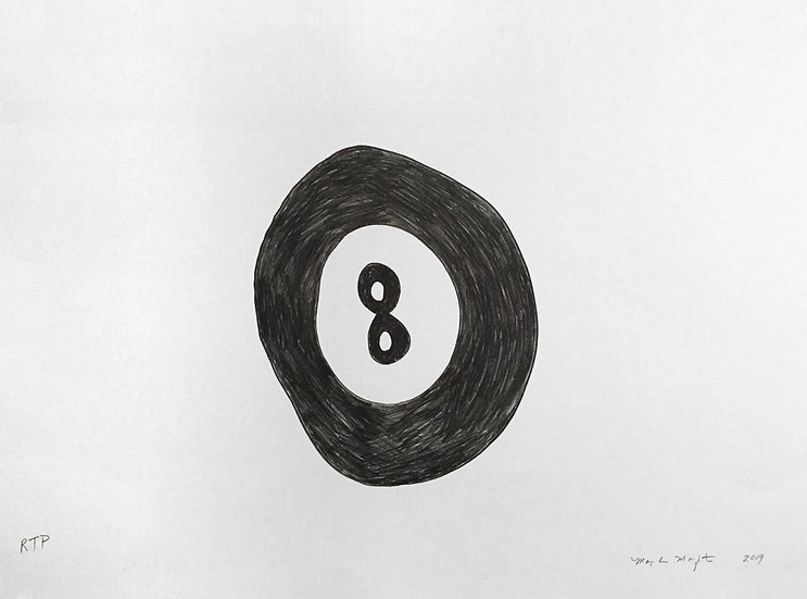 "Mary-Ann Monforton - ""Magic 8 Ball"""