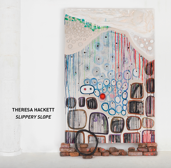 "Theresa Hackett - ""Slippery Slope"" exhibition catalog"