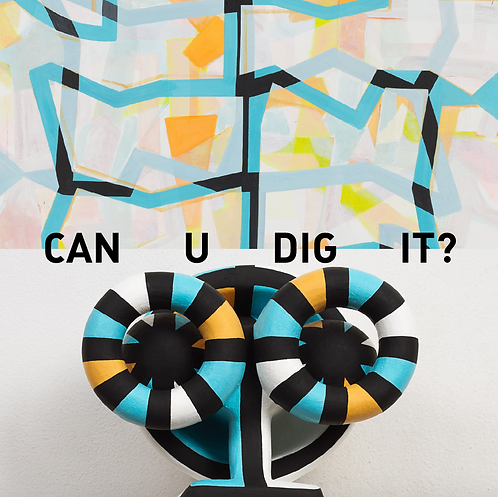 "Jill Levine + Colin Thomson - ""Can U Dig It?"" exhibition catalog"