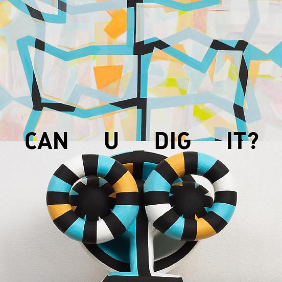 "Jill Levine + Colin Thomson - ""Can U Dig It?"" exhibition catalog"