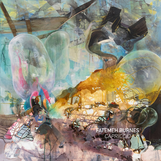 """Fatemeh Burnes - """"Capriccio"""" exhibition catalog"""